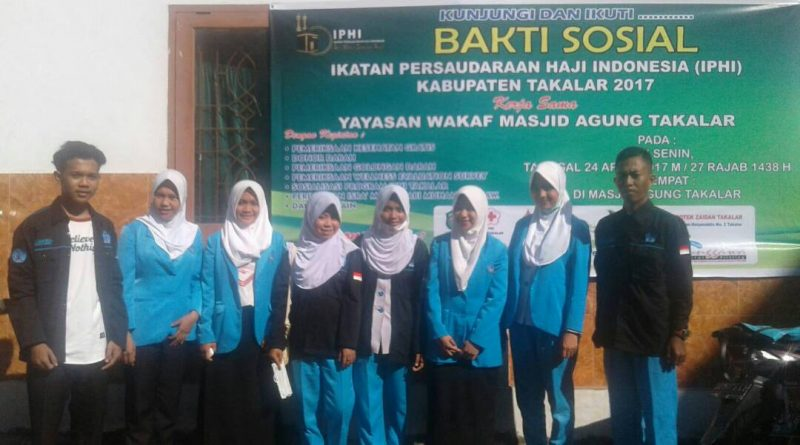 KEIKUTSERTAAN MAHASISWA STIKES TANAWALI DALAM KEGIATAN BAKTI SOSIAL DAN DONOR DARAH IPHI